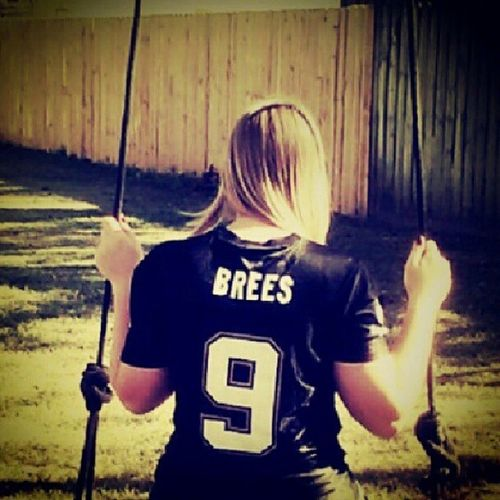 Day 28~ lucky number. 9 Itsnosecret BestQB Whodat