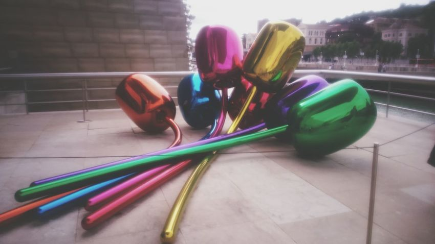Gugggenheim Bilbao Jeff Koons Art