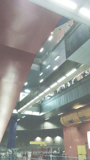 Infinite up Enjoying Life Taking Photos Walking Around Subway Station Train Running Late Sao Paulo - Brazil