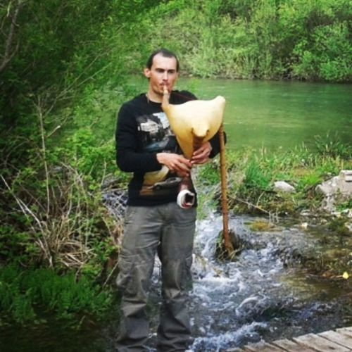 Playing with River Cetina Relaxing