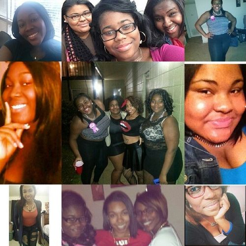 My wcw are my bestfriends, my ride or dies, my sisters. We fuss fight and argue but our love will never end. Love my baddies WCW Sisters Rods BeautifulBlackWomen