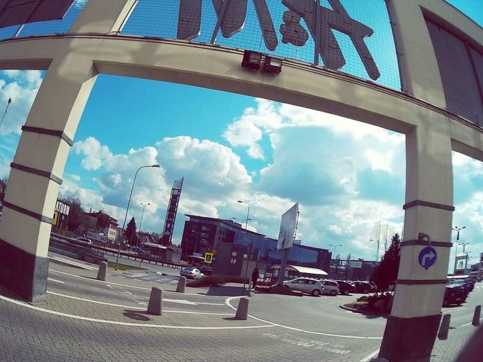 Sky And Clouds Goprolife Gopro Shots Goprourban Goprooftheday GoPrography Gopro Spring Springtime Sunny Day