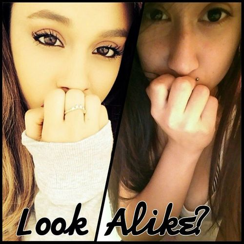 Somebody Said That Me and Her Look Alike.. Does Anybody Else See It?