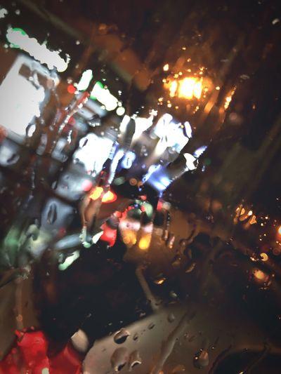 Night Water Rain Rainy Days
