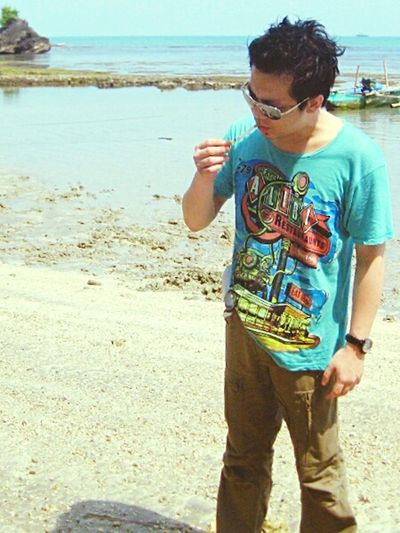 Anyer  Hangover Beach Anyerbeach Smoking Morning INDONESIA That's Me Relaxing Enjoying Life