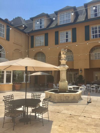 Courtyard of the Park Hotel