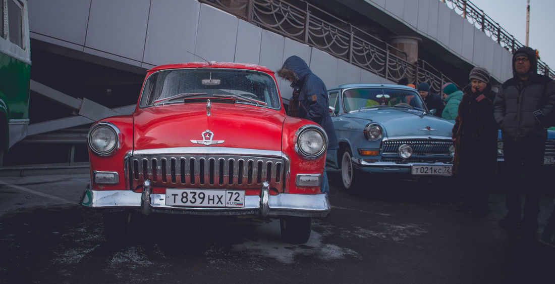 Car People Day Outdoors Automotive Photography Automotive Motion Blue Transportation Retro Styled Old-fashioned Gaz21 Газ21