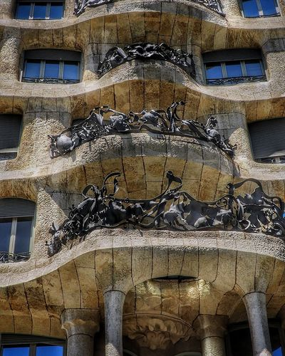 La Pedrera Textured  No People Textured  Day