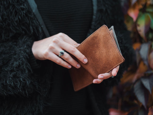 Autumn Business Hands Leather Money Money Money Shopping Wallet Woman Business Finance And Industry Businesswoman Close Up Close-up Day Finance Human Hand Lifestyles Midsection Money Money Around The World One Person Outdoors Purse Real People Style Women