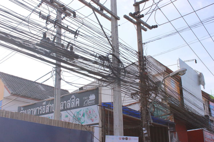 Wireless Technology Wires Thailand🇹🇭 Tangle Thailand
