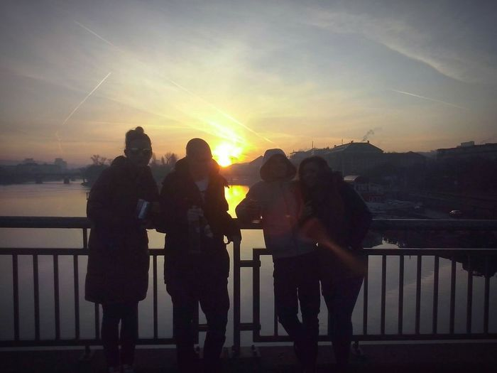 Sunrise Good Morning! Start The Day Party Time! Party Hard Pan-Pot Live štefánikúv Most Prague Praha Life In Prague Czech Republic Bohemian Style Walking Home Beautiful Morning Sunrise Beautiful Morning Out Walking Beautiful Morning After Party Great Time With Friends Love Your Life