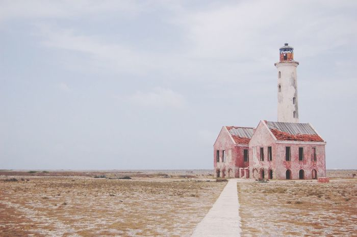 EyeEm Selects Architecture Lighthouse Built Structure Building Exterior Sky Day Outdoors No People Nature Klein Curacao