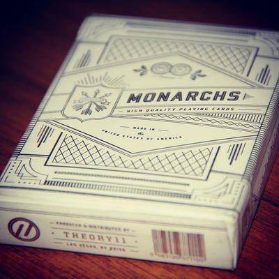 Monarchs Silver  Playingcard