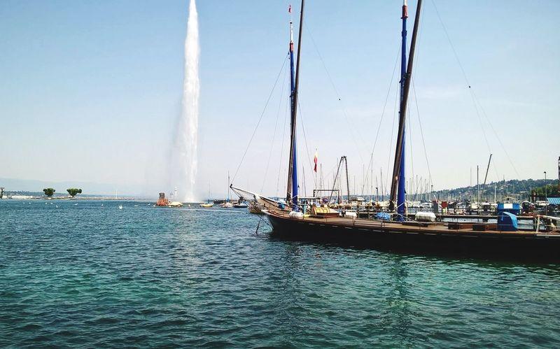 Genève : Les bords du Lac Léman aujourd'hui