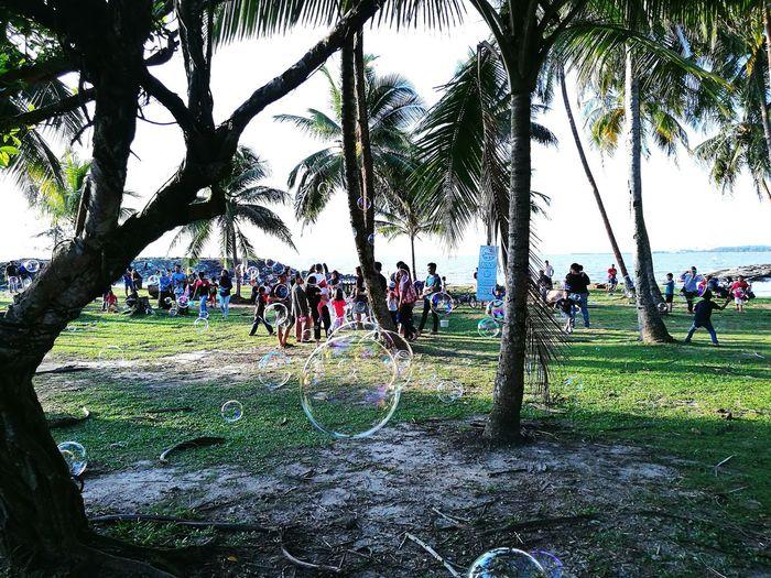 Bintulu Bintulu Beach Tanjung Batu Bintulu Pantai Temasya Bintulu Family Hangout Hanging Out ✌ Giant Bubbles