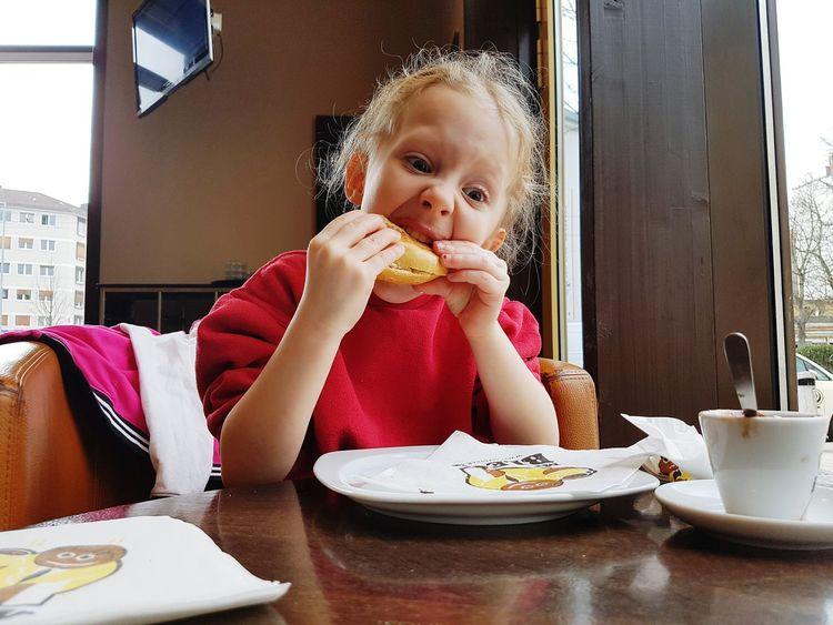 Eat A Bagel My Daughter ♥ My Princess ♥ My Love ❤ Mr. Bleck & Icecream