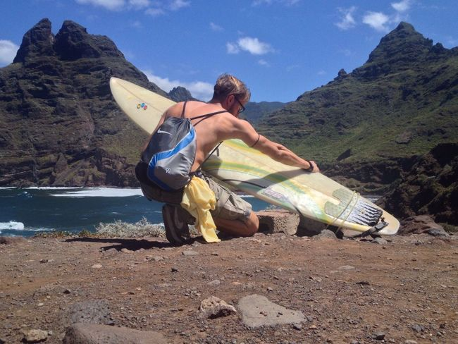 """Into the North"" NevermindRecords Surf's Up Surf Surfing Surfboard Canary Islands Tenerife"
