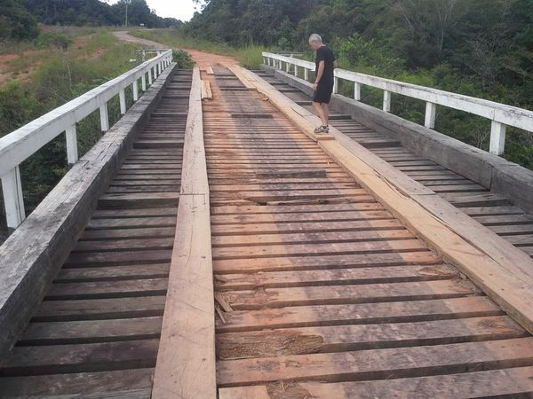 Checking to cross, br 319 in the middle of brazilian jungle Bridge - Man Made Structure The Way Forward Wood - Material Outdoors Landscape The Week On EyeEm. EyeEm Best Shots Built Structure Brazil ❤ Jungle Trips JungleExperience Br319 Travel Travel Photography Adventure