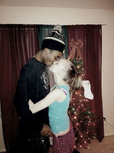 Baby & I on new year 01012013 , I Love this kid with all my heart we might nit be official right now but he know were home is just like i do , i do anything ffor him & my Maya <3 he loves the both of us & never wanna see us hurt( : i love you baby