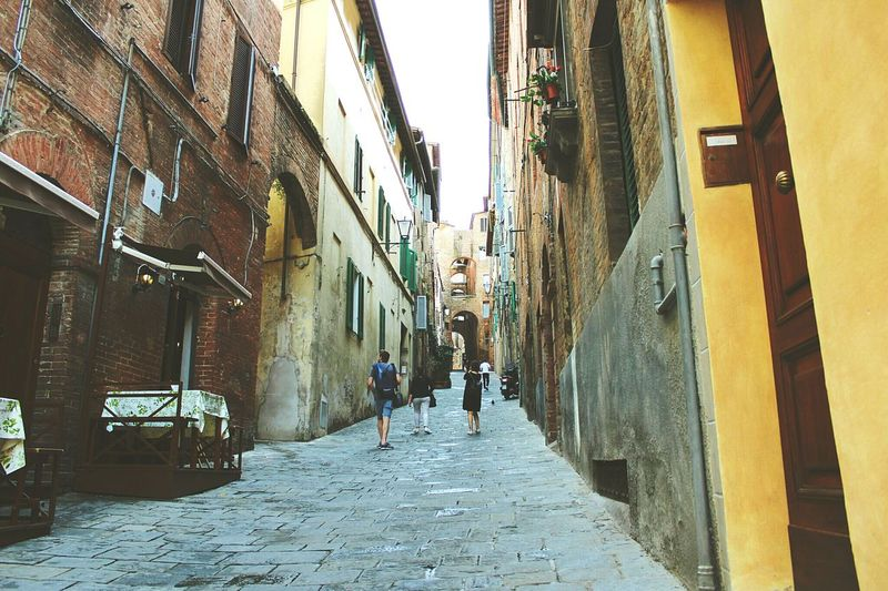 Siena Vicoli Toscana ITALY Borghipiúbelliditalia Amazing View Streetphotography