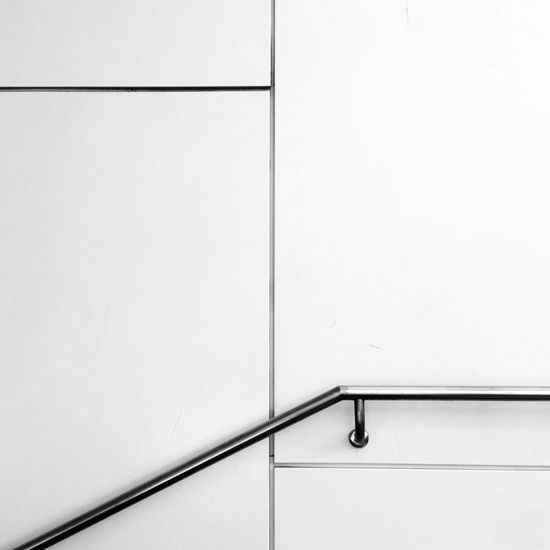 Angularphotography Architecture B&w City Geometry Everywhere No People Stairway White Background