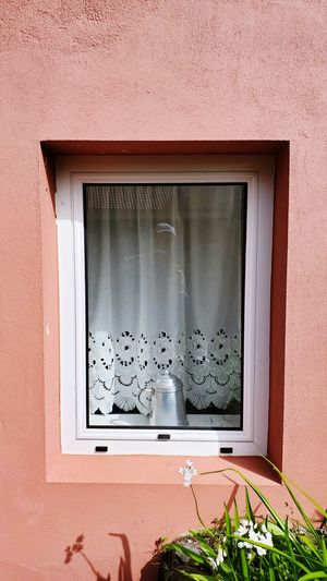 View of window on wall