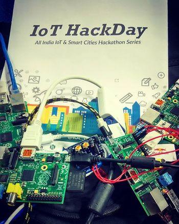 Iothackday Hyderabad Funtimes Internetofthings Intelligentdevices Raspberrypi Smarthome Iith_team Iith