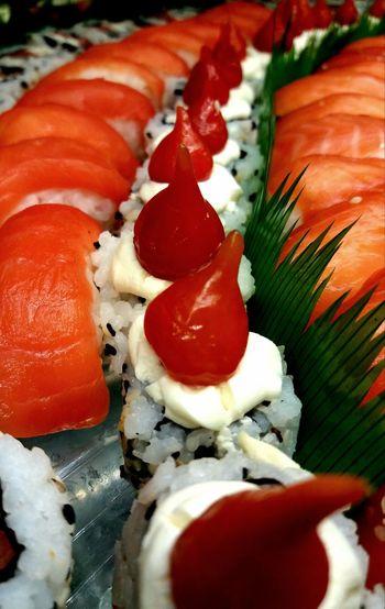 PetitsDetails Imagem Celular Sushi Bar Sushi Restaurant Sushinight Sushidigital Food Outdoors Salmon Sushi Pimenta Biquinho