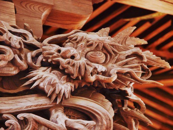 Japan Japanese Culture Sculpture Ryuu Dragon God