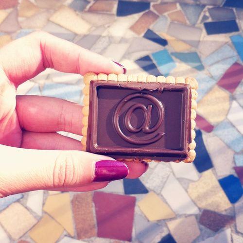 Miam Petitbeurre Chocolate Taking Photos
