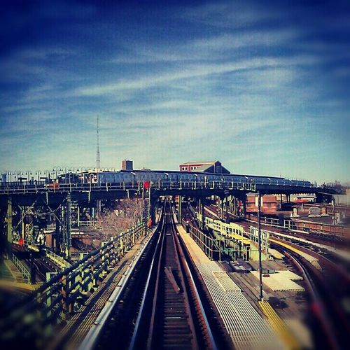 """Rollercoaster Ride"" Riding The Train Urban Exploration Brooklyn Urban Rollercoaster"