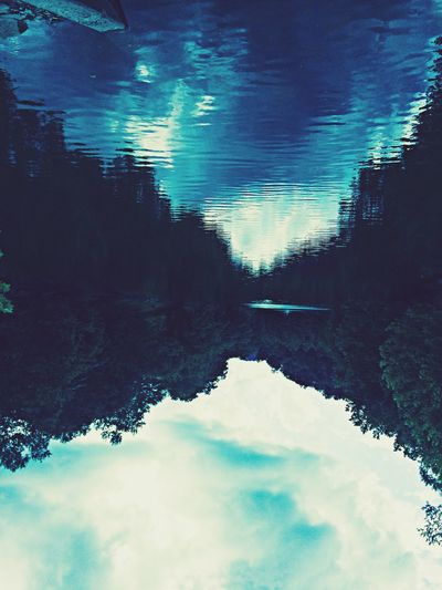 Make the world how you see it'! Water Reflections Changing The World