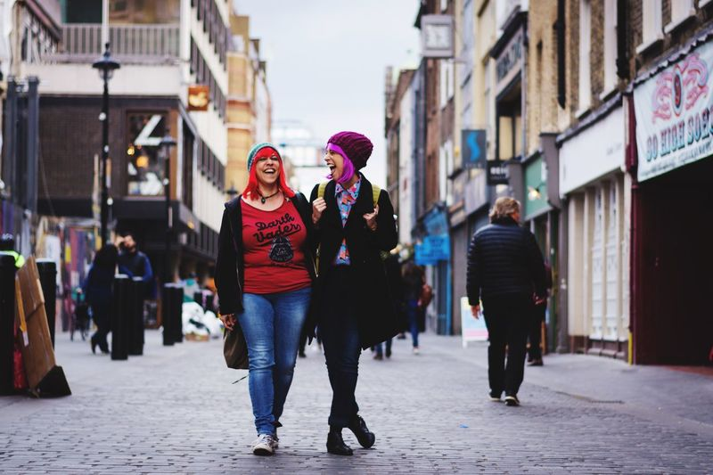 Place Of Heart Friends Friendship Colour Of Life Colourful Laughter London Wigs