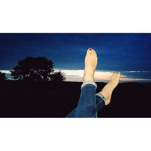 Barefoot Bretagne Thenightiscoming Feet From My Window Holiday POV Summer Holidays