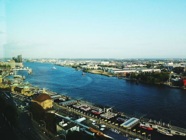 Cityscape City Harbor Business Finance And Industry High Angle View Sea Nautical Vessel Transportation Business Water Industry Aerial View Outdoors Shipping  Architecture Commercial Dock No People Day Urban Skyline Skyscraper Hamburg Hafencity EyeEmNewHere Hamburg Hamburgcity Travel
