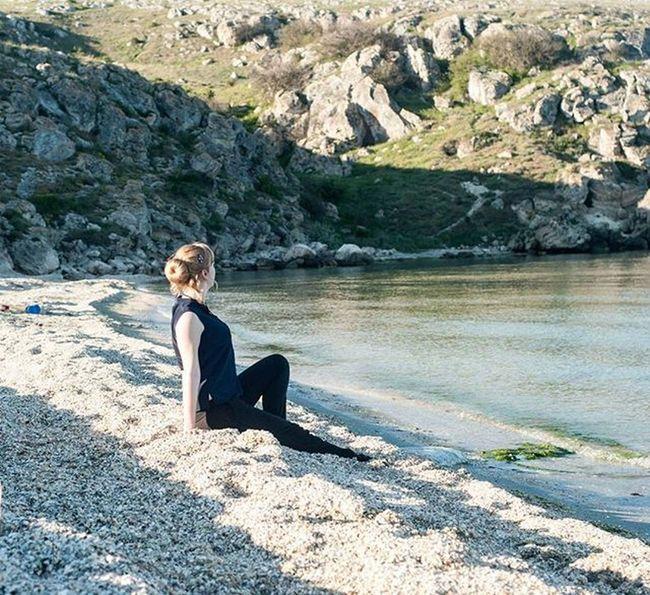 Море берег песок😍 ракушки отдыхаем гуляем