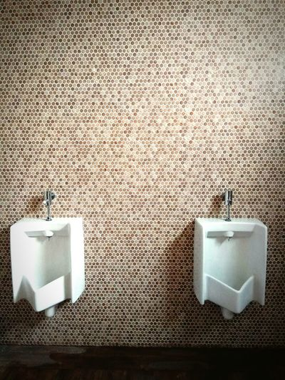 """MEN'S TALK"" - Toilet Men's Toilets Interior Minimalism Pisspot Urinoirs Cleanliness Sanitaire Relieving Wall Textures No People in Jatiluhur Bekasi, Indonesia"