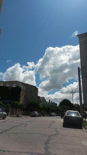 Clouds And Sky Nubes Y Cielo Calle Urquiza y Gascón