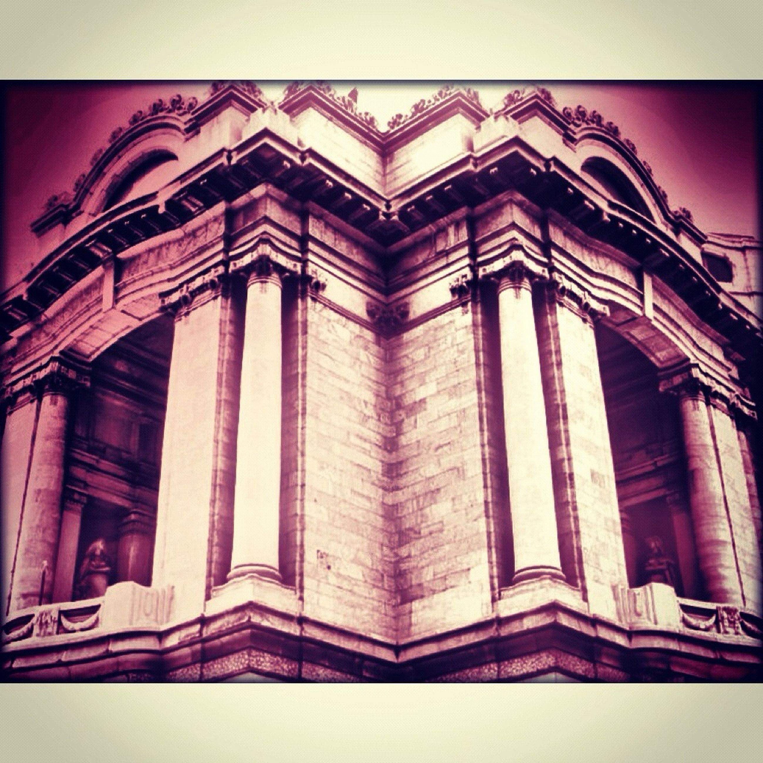 architecture, built structure, low angle view, building exterior, transfer print, auto post production filter, window, ornate, art and craft, architectural feature, design, history, art, pattern, building, religion, place of worship, no people, facade, creativity