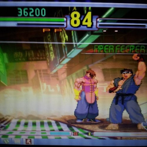2 perfect victories! Streetfighter CAPCOM Videogame  Imabeast perfectvictory TagsForLikes gamingpotato fighting kickass gamer instagame instagamer