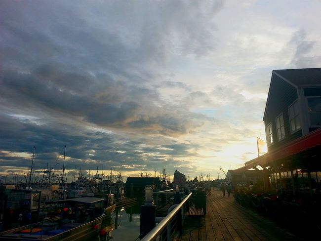 Sunset Pajo Secret Fatty Steveston Steveston Village Harbour Beautiful British Columbia
