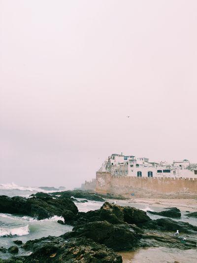 Foggy day at