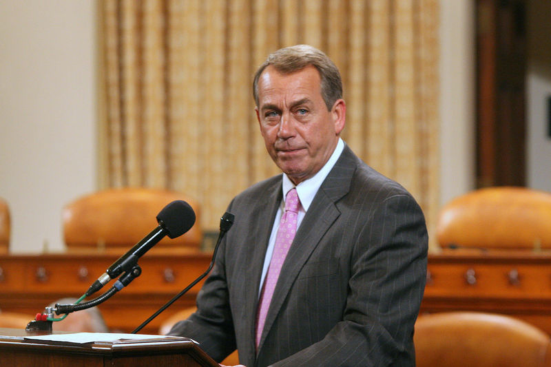 Confidence  Front View John Boehner Political Politician Politics Real People Speaker Of The House Standing Washington, D. C.