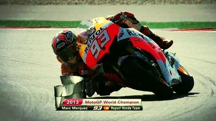 Congratulations champion, you are the best! Motogp Marcmarquez SPAIN Motorcycles