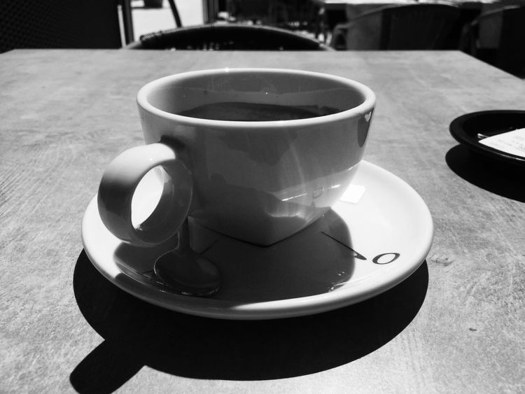 Coffee First Eyeem Photo Cup Of Coffee Cupofcoffee Cup Blackandwhite Black & White Black And White Photography Exterior Exteriors Exteriorphotography