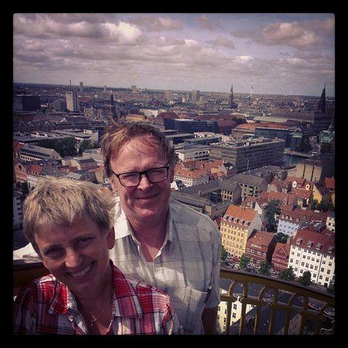 Besøg fra Lemvig Mor &Far PåToppen Højt København Sommer