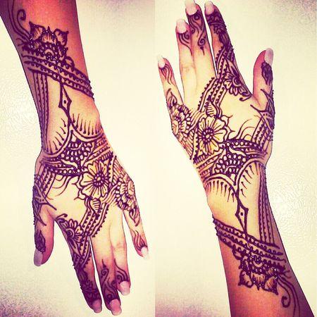 henna design. Henna Bodyart Tattoo Arabic