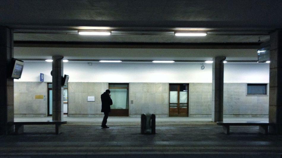 Waiting Railwaystation
