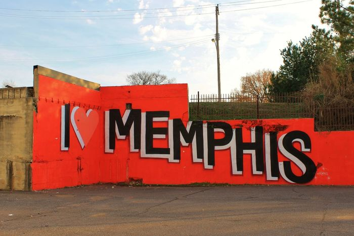 Bold City Profile I Love My City Memphis,tn No People Sign Text Urbanphotography