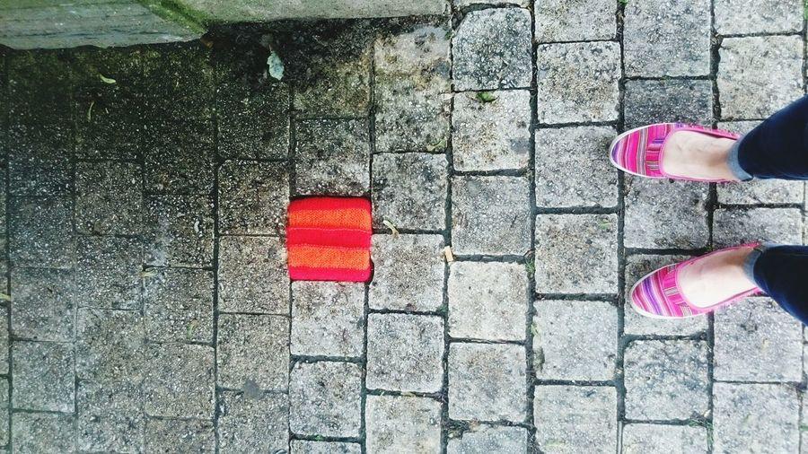 Yarn Bombing Street Art Bruxelles